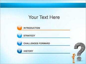Pergunta Imposto Modelos de apresentações PowerPoint - Slide 3