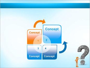 Pergunta Imposto Modelos de apresentações PowerPoint - Slide 5