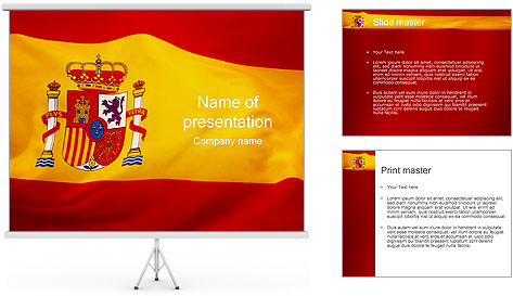 Coolmathgamesus  Winsome Spain Flag Powerpoint Template Amp Backgrounds Id   With Exciting Spain Flag Powerpoint Template With Delightful Powerpoint Presentation Outline Template Also Master Slides Powerpoint In Addition How To Make Awesome Powerpoints And Turn Powerpoint  Into Video As Well As Army Personnel Recovery Powerpoint Additionally Ideas For Powerpoint Presentations From Smiletemplatescom With Coolmathgamesus  Exciting Spain Flag Powerpoint Template Amp Backgrounds Id   With Delightful Spain Flag Powerpoint Template And Winsome Powerpoint Presentation Outline Template Also Master Slides Powerpoint In Addition How To Make Awesome Powerpoints From Smiletemplatescom
