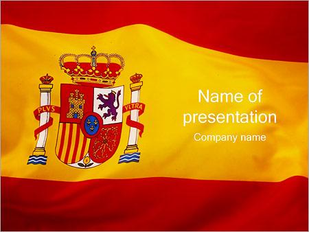 Spain powerpoint template smiletemplates spain flag powerpoint templates toneelgroepblik Image collections