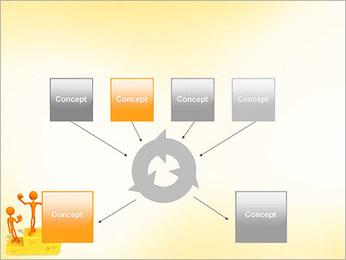 Vencedores no Pedestal Modelos de apresentações PowerPoint - Slide 10