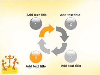 Vencedores no Pedestal Modelos de apresentações PowerPoint - Slide 14