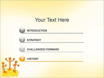 Vencedores no Pedestal Modelos de apresentações PowerPoint - Slide 3
