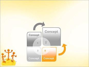 Vencedores no Pedestal Modelos de apresentações PowerPoint - Slide 5