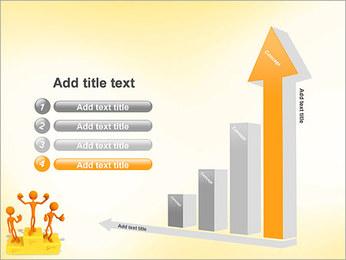 Vencedores no Pedestal Modelos de apresentações PowerPoint - Slide 6