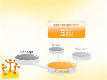 Vencedores no Pedestal Modelos de apresentações PowerPoint - Slide 9