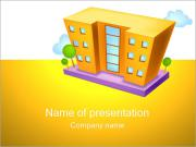 Storey House PowerPoint Templates