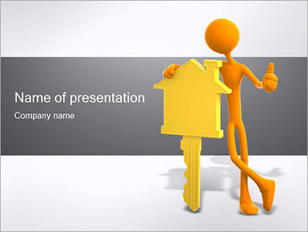 House Key PowerPoint Template