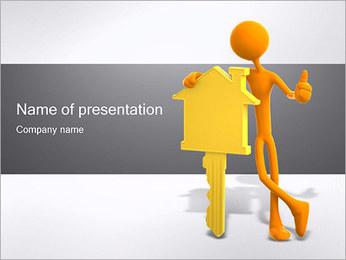 Ключ от дома Шаблоны презентаций PowerPoint