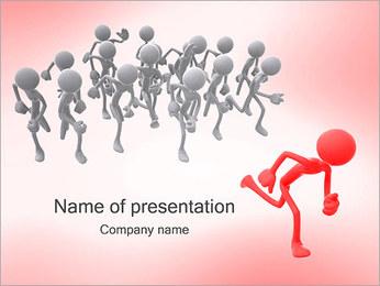 Chefia Modelos de apresentações PowerPoint - Slide 1