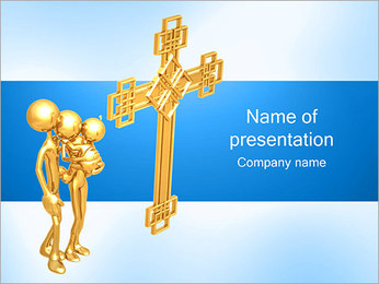 Religious Family PowerPoint Template