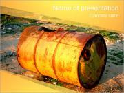 Rusty Barrel PowerPoint Templates