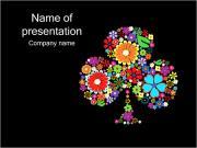 Flor Plantillas de Presentaciones PowerPoint