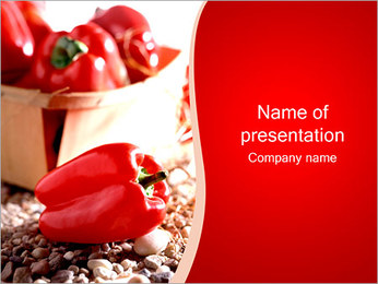 Paprica Modèles des présentations  PowerPoint - Diapositives 1