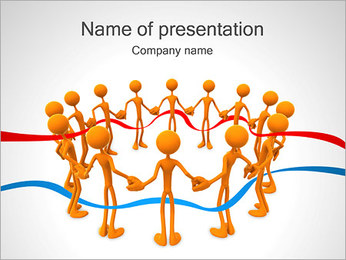 People Together PowerPoint Template