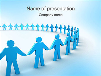 コミュニティ PowerPointプレゼンテーションのテンプレート