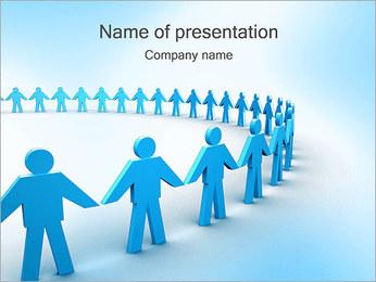 Gemenskapen PowerPoint presentationsmallar