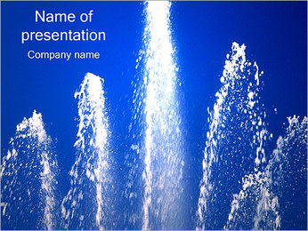 Fountain PowerPoint Template
