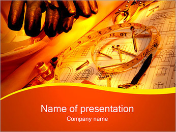 Building Concept PowerPoint Template