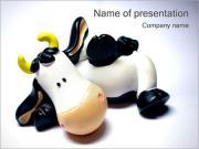 Cow Souvenir PowerPoint Templates