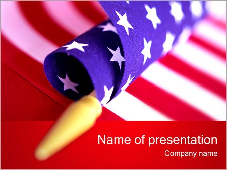 American flag powerpoint template backgrounds id 0000001608 american flag powerpoint templates toneelgroepblik Choice Image