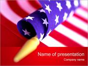 American Flag PowerPoint Templates