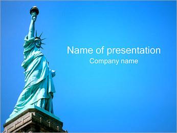 Статуя Свободы Шаблоны презентаций PowerPoint