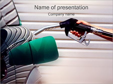 Remplissage voiture essence Modèles des présentations  PowerPoint