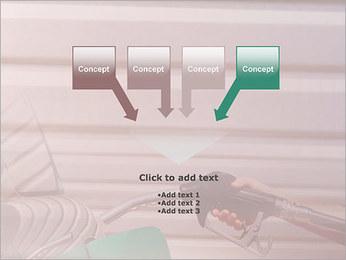 Remplissage voiture essence Modèles des présentations  PowerPoint - Diapositives 8