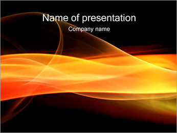 Line of Fire PowerPoint Template