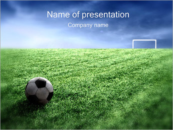 Football Gate PowerPoint Template