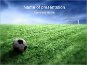 Football Gate PowerPoint presentationsmallar