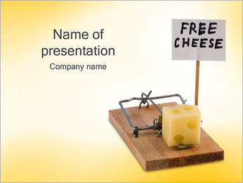 Free Cheese PowerPoint Template
