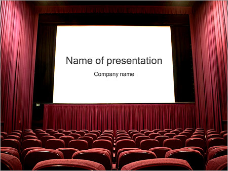 Theater powerpoint template backgrounds google slides id theater powerpoint template toneelgroepblik Choice Image