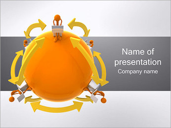Global Communications Plantillas de Presentaciones PowerPoint - Diapositiva 1