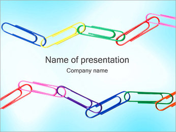 Clips PowerPoint Template