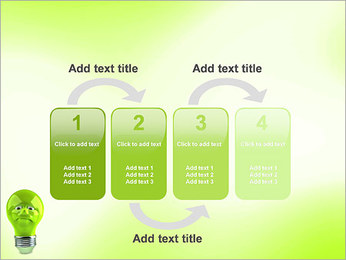 Green Lamp PowerPoint Template - Slide 11