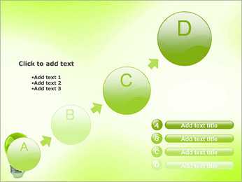 Green Lamp PowerPoint Template - Slide 15