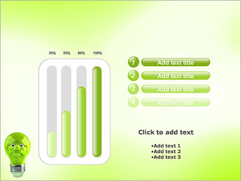 Green Lamp PowerPoint Template - Slide 18