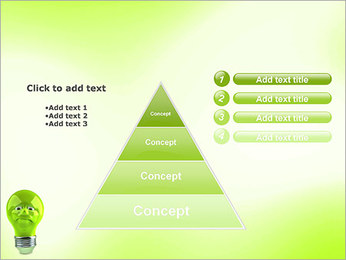 Green Lamp PowerPoint Template - Slide 22