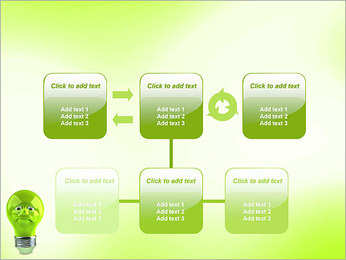 Green Lamp PowerPoint Template - Slide 23