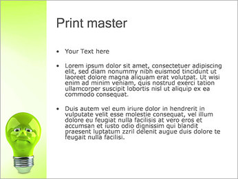 Green Lamp PowerPoint Template - Slide 24