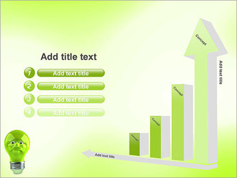 Green Lamp PowerPoint Template - Slide 6