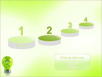 Green Lamp PowerPoint Template - Slide 7