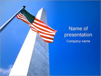 Pomnik Waszyngtona Szablony prezentacji PowerPoint