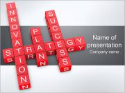 Strategy Crossword PowerPoint Templates