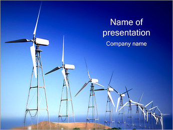 Windmills PowerPoint Template