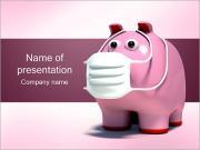豚のグリップ PowerPointプレゼンテーションのテンプレート