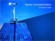 Windmill and Solar Panel PowerPoint Templates