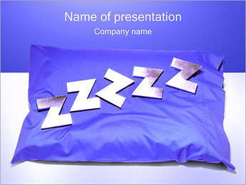 Sleeping PowerPoint Template